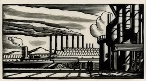 Image of Steel Plant from the Doremus series