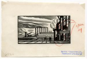 Image of Steel Plant [ship opened] from the Doremus series