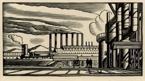 Image of Steel Plant [piping opened] from the Doremus series