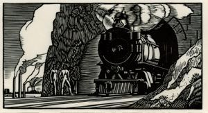Image of Train Tunnel from the Doremus series